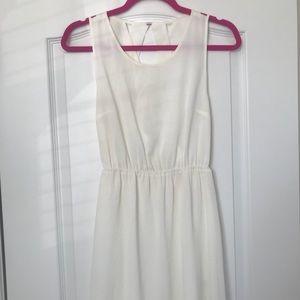 H&M Small White Criss-Cross Back Dress